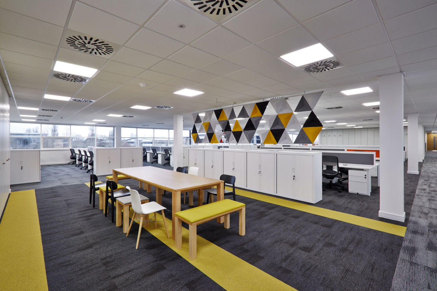 Fit out with informal staff meeting area