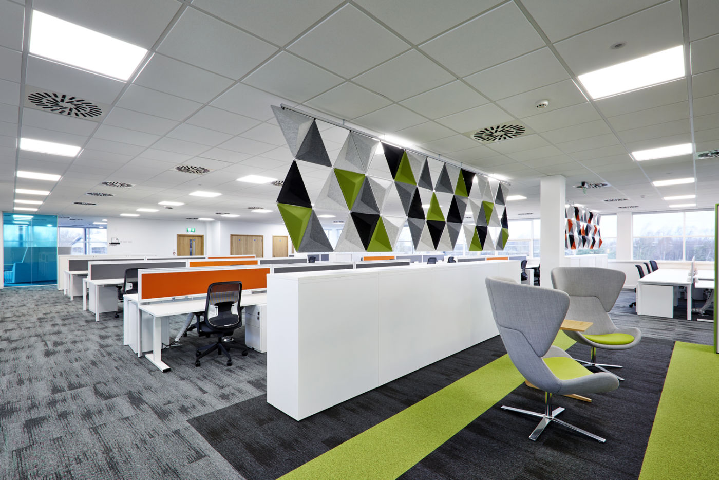 Furniture in office fit out