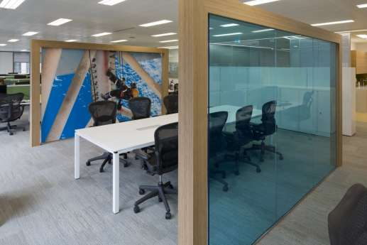Informal meeting room fit out