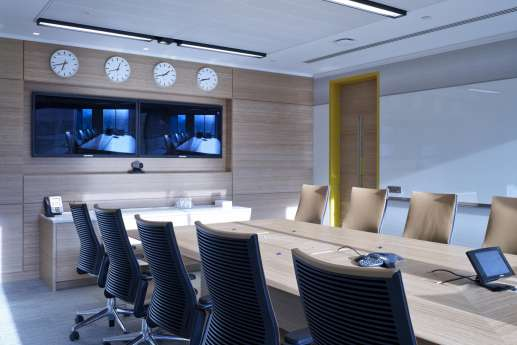Smart meeting room fit out