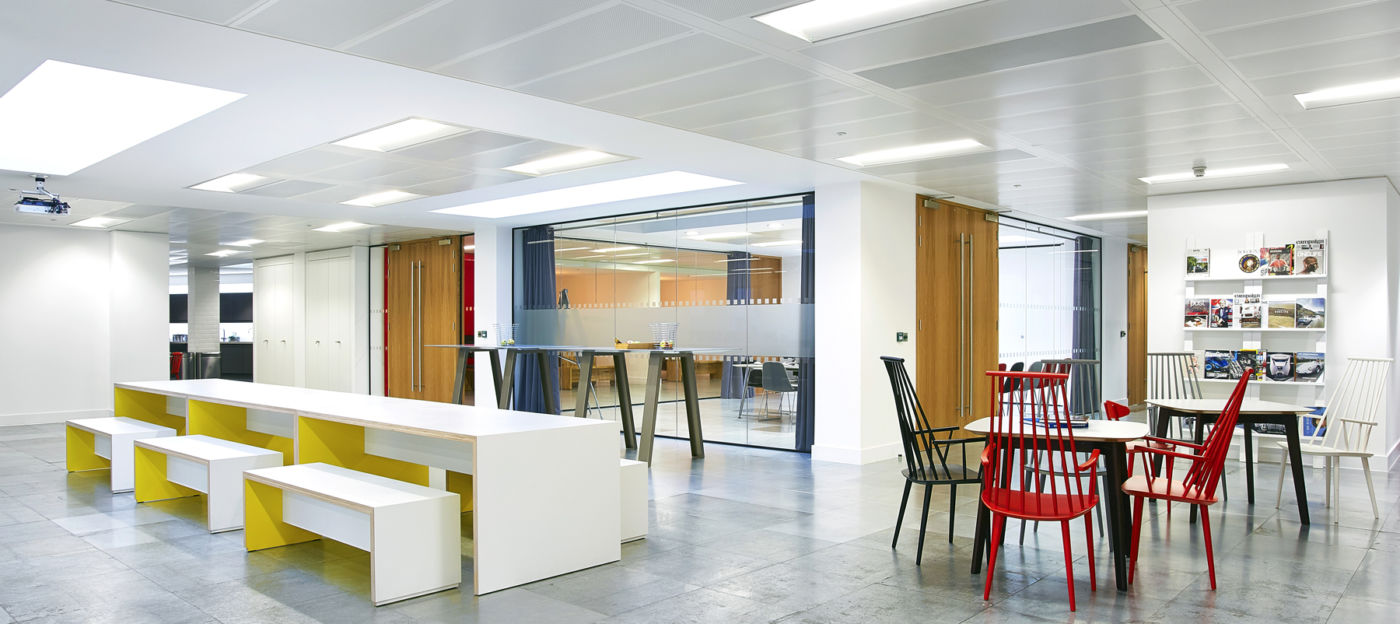 Alternative seating in office fit out