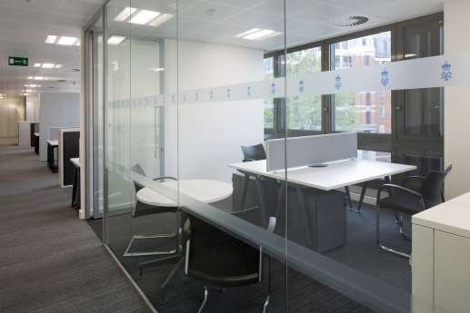 Meeting room in London office