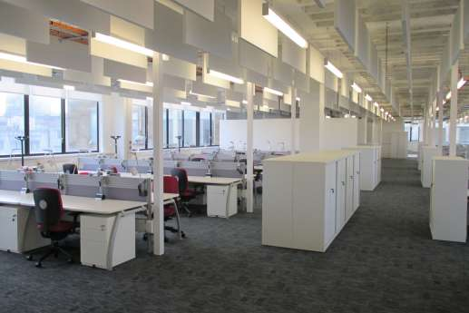 Office fit out at UCL