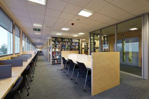 Work spaces in the library