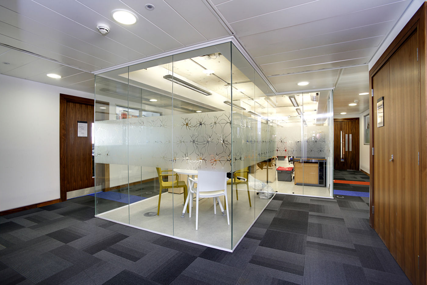 View of meeting room area