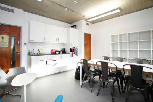 Modern staff kitchen fit out