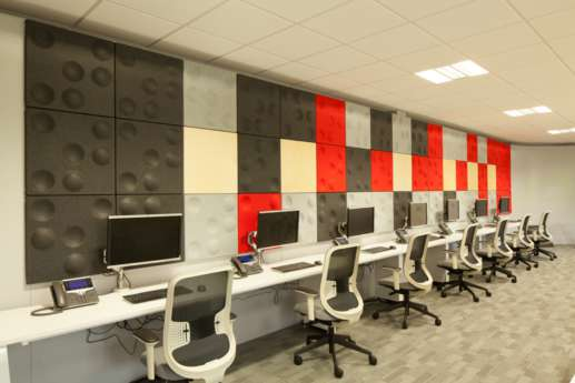 Computer office fit out