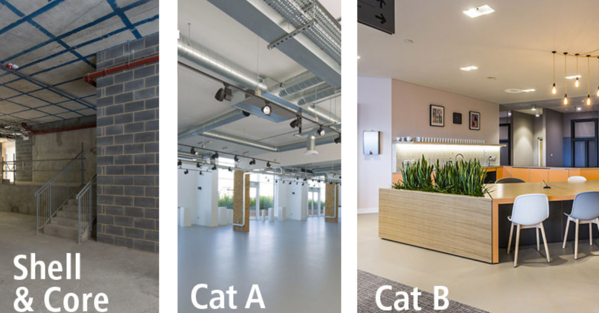 Do you know your Cat A from your Cat B fit out? Overbury