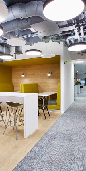 Birmingham office fit out