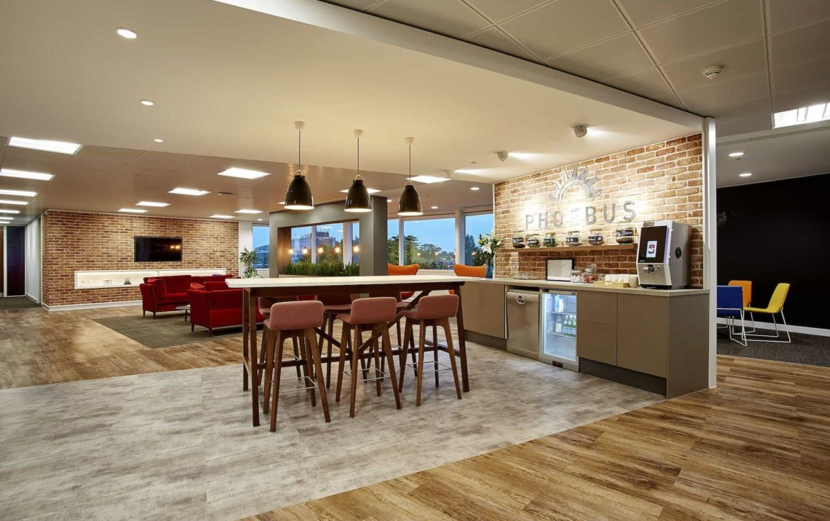 Phoebus fun office fit out