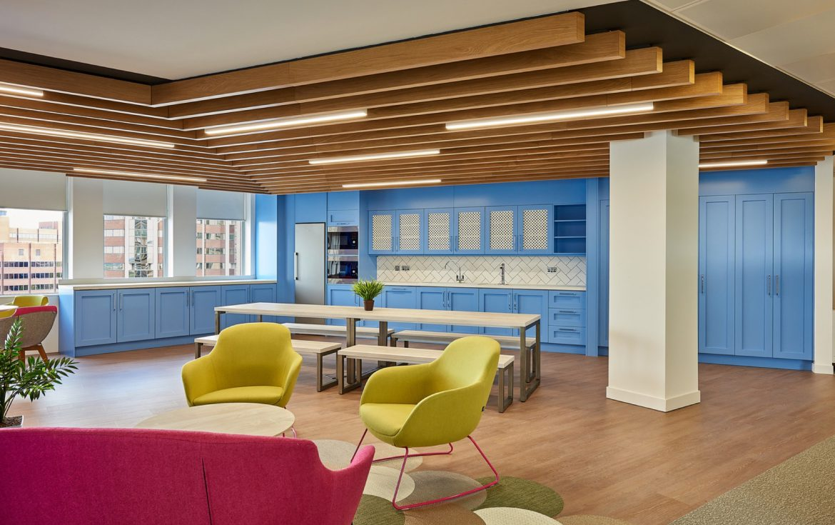 Overbury office design and build for Alzheimers Society