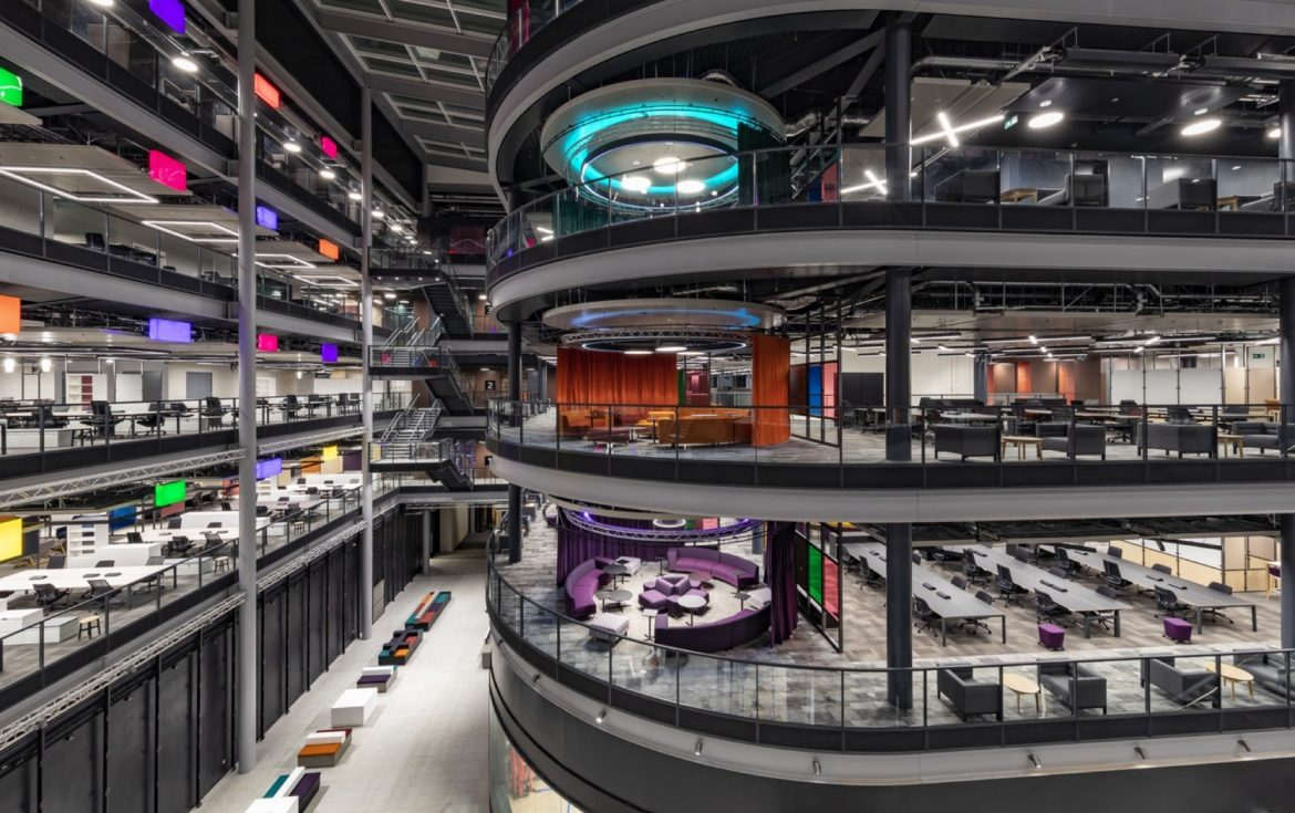 BBC office and studio fit out