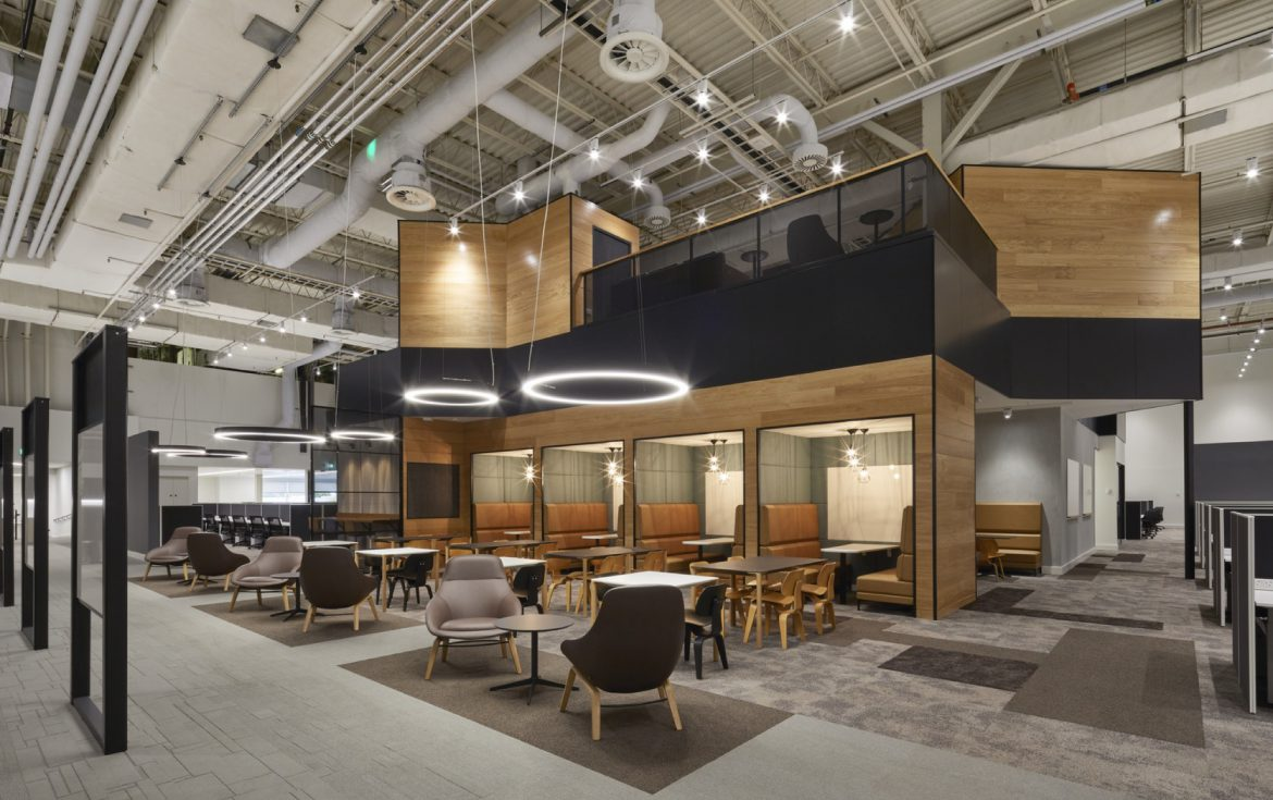 DXC Technology office fit out