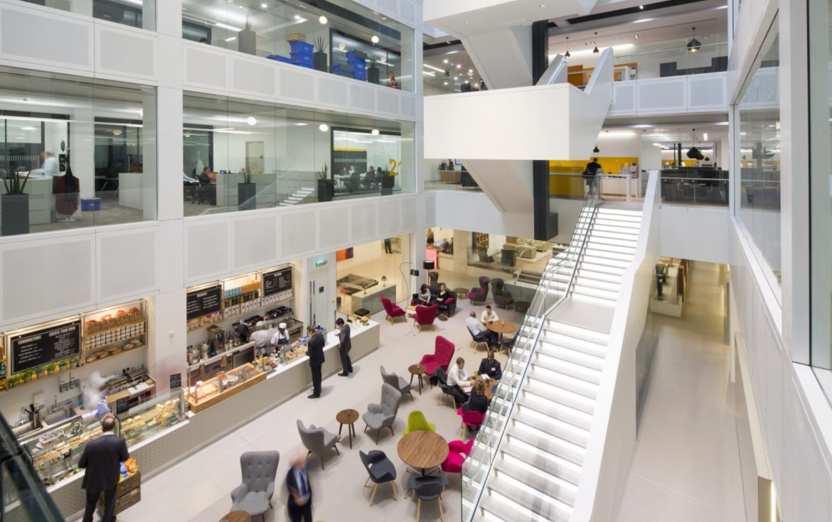 PwC office fit out for agile