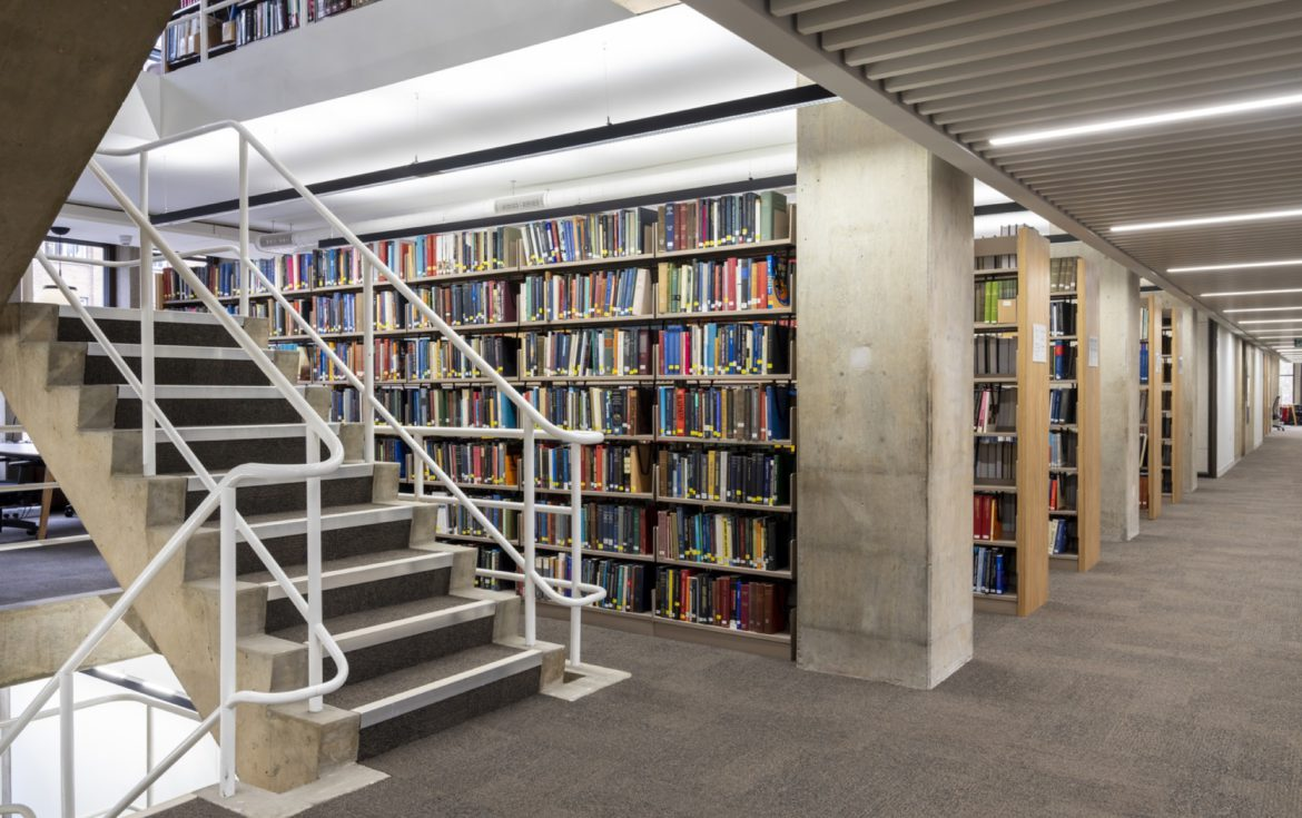 University of London Library refurb