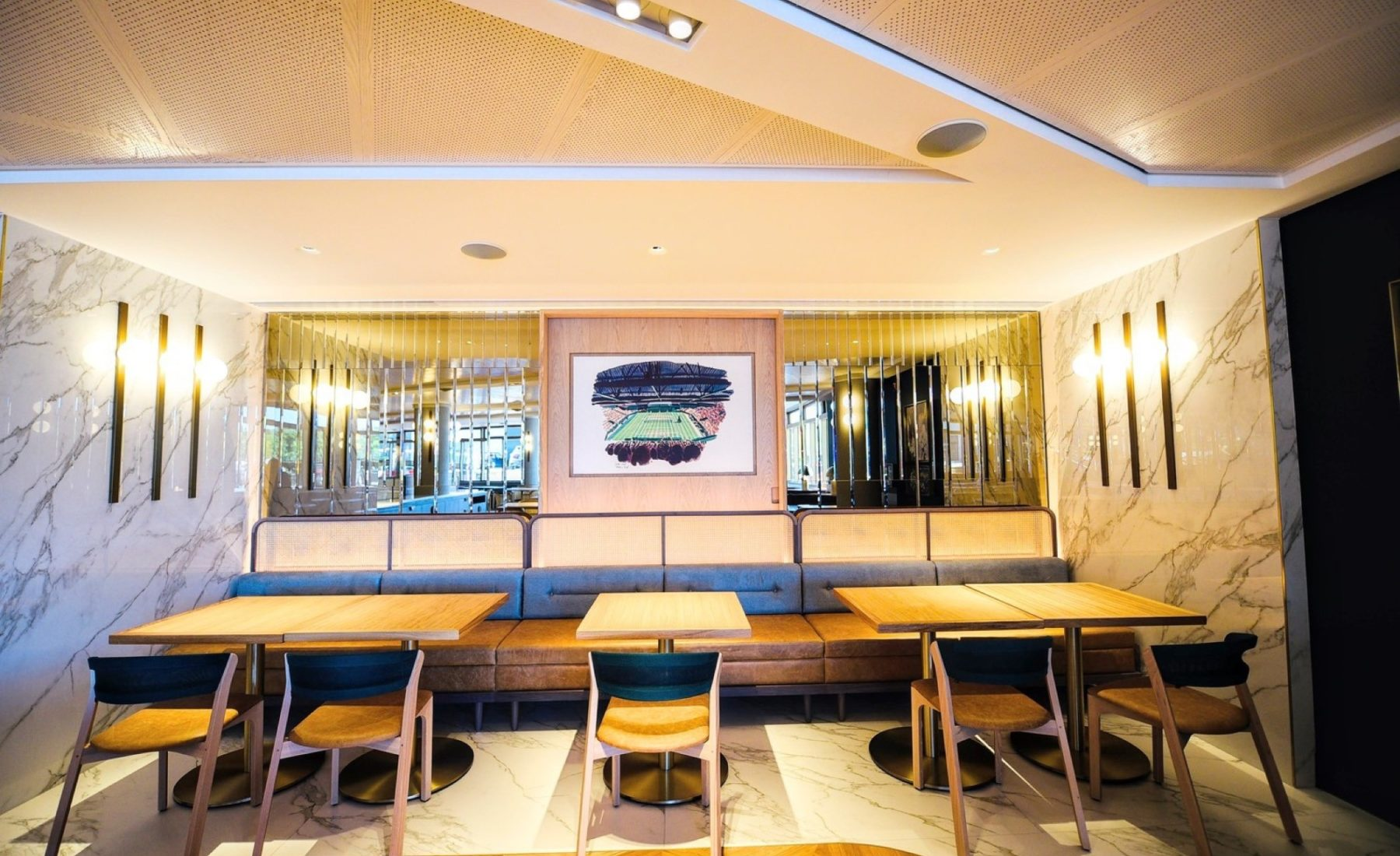 Wimbledon brasserie fit out and refurbishment