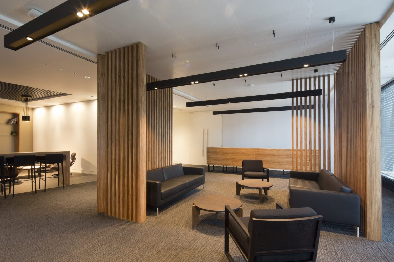 Aon office interior by Overbury