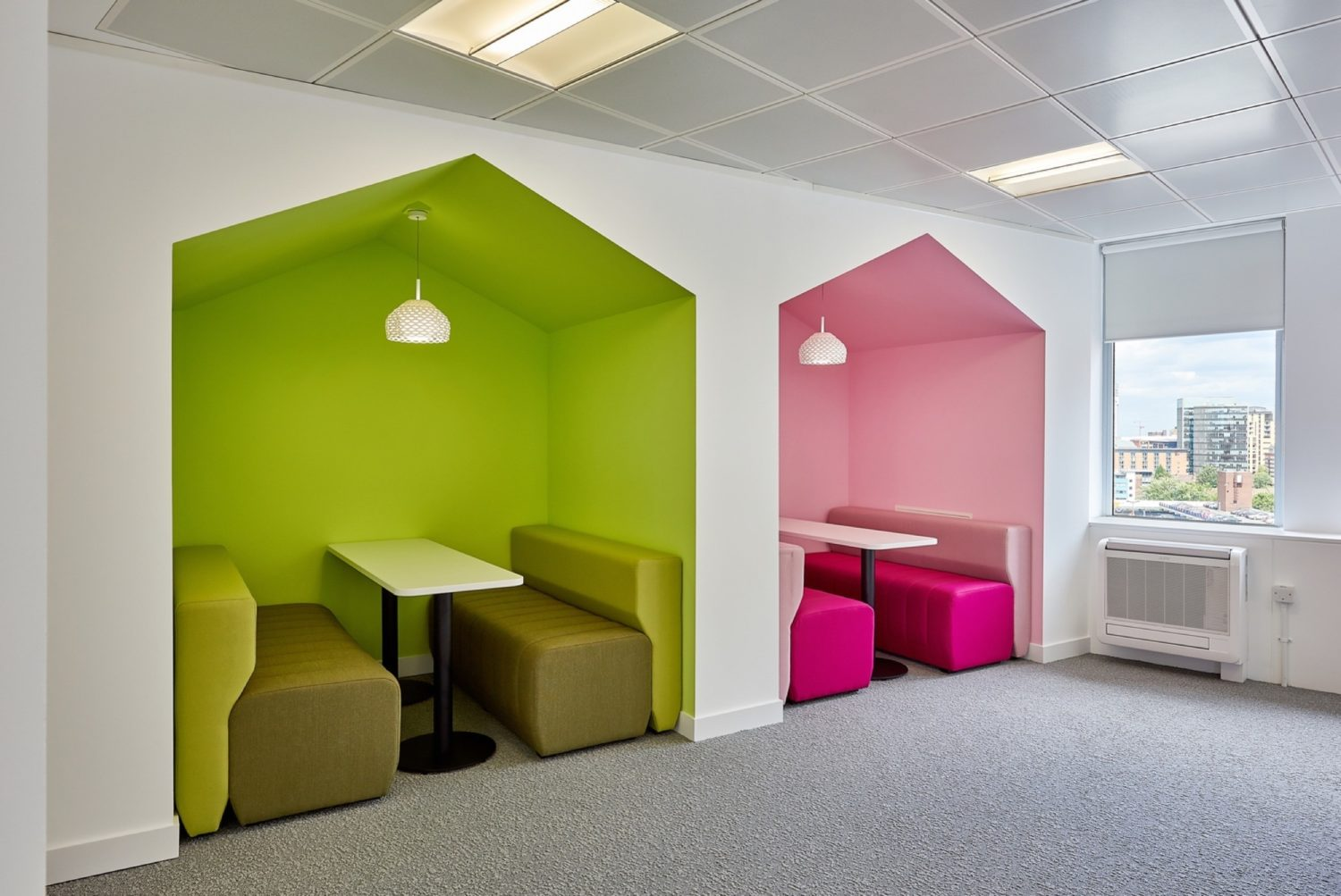 Alzheimers Society meeting pod fit out