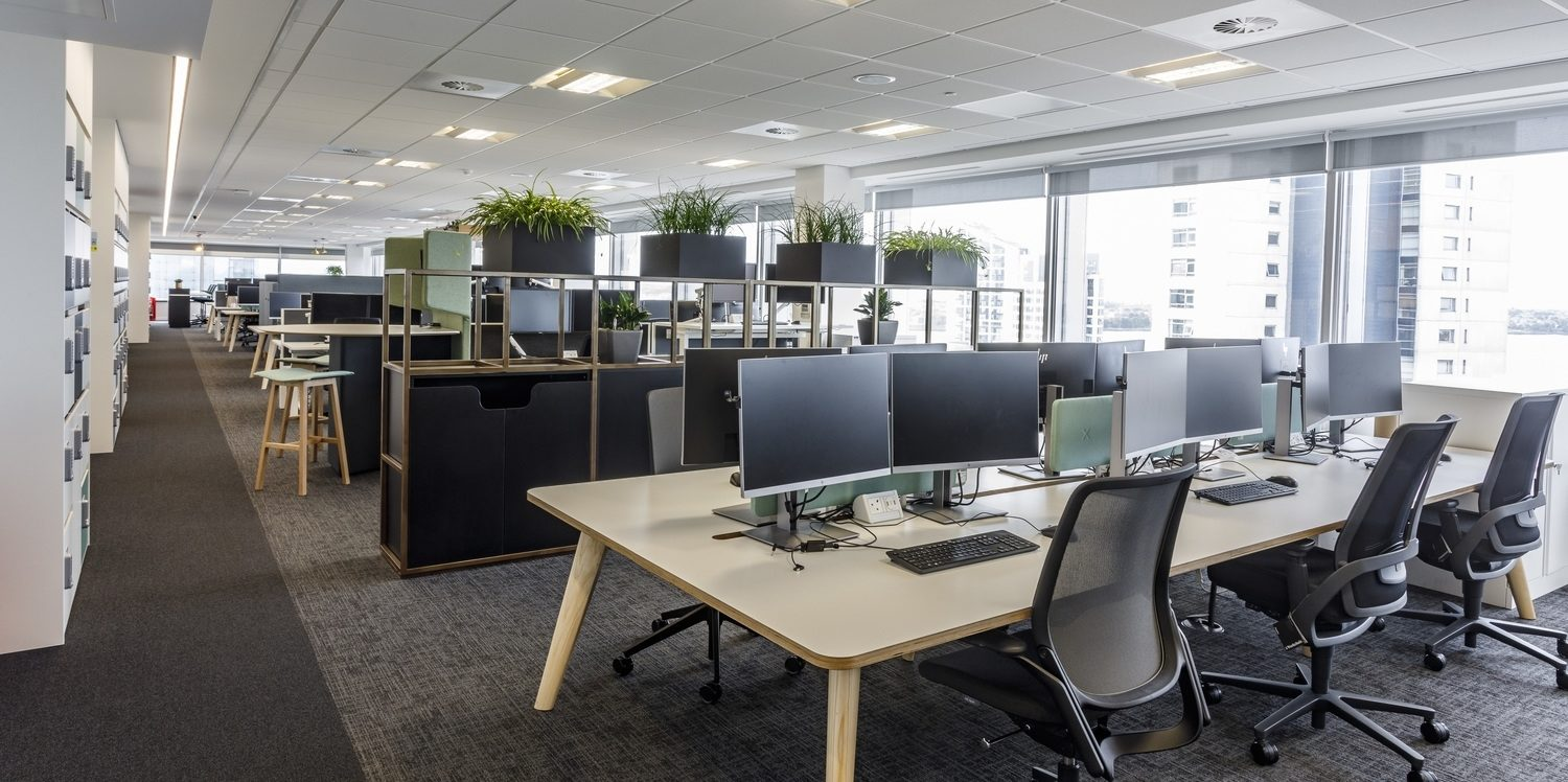ARUP agile and collaborative office fit out