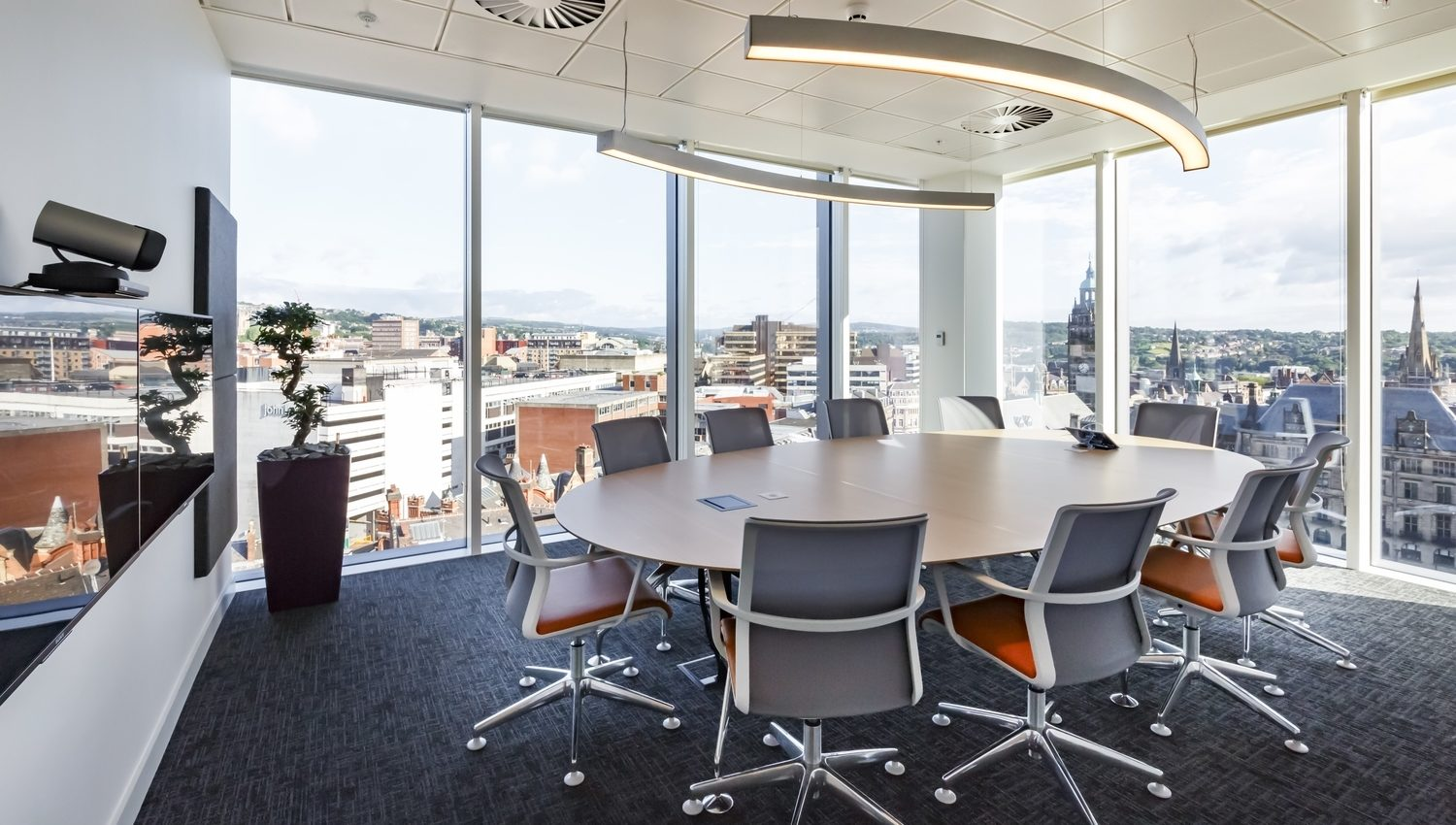 ARUP smart meeting room fit out