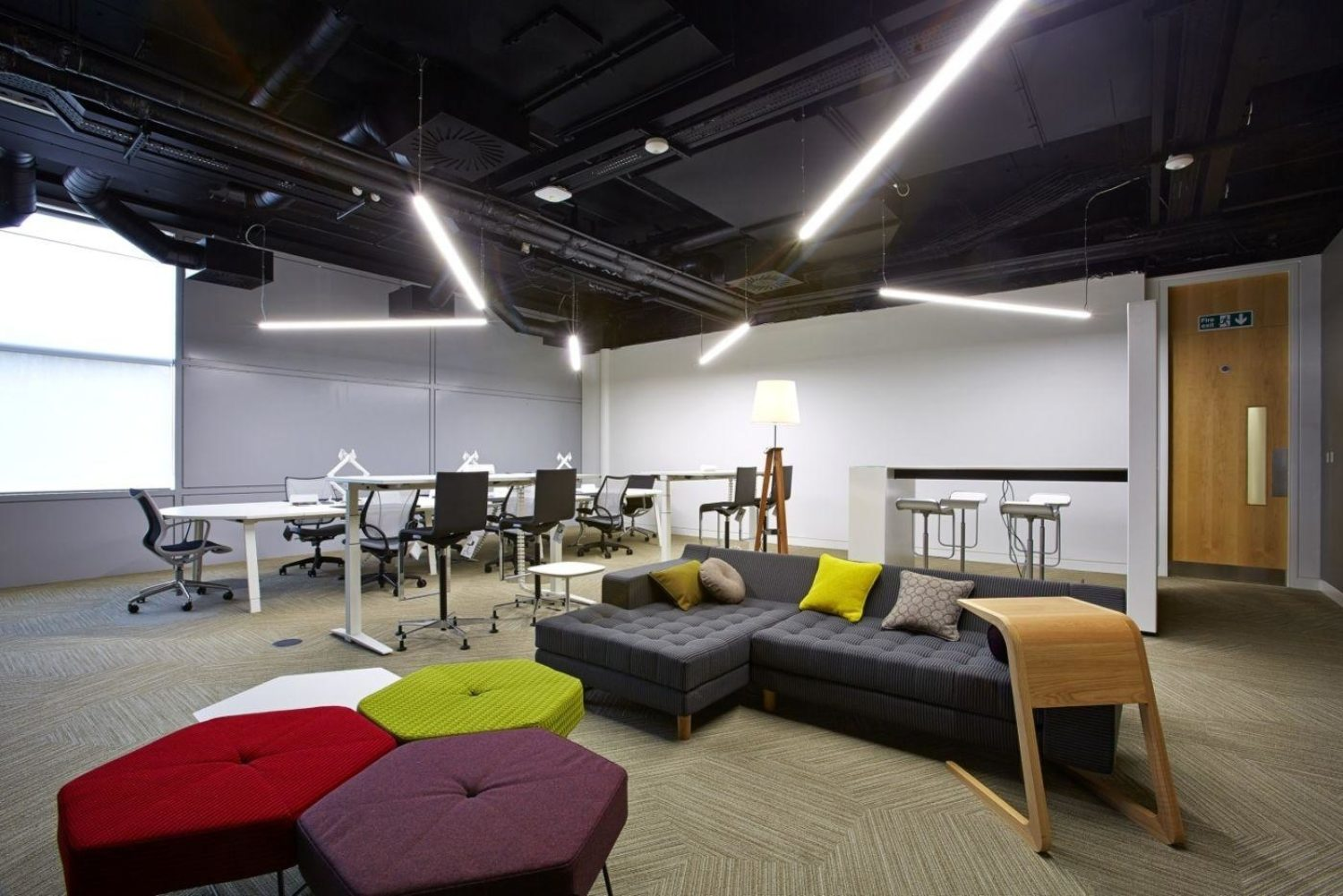 Astra Zeneca collaborative workspace fit out