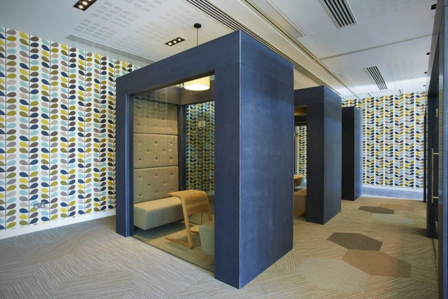 Astra Zeneca office pod fit out