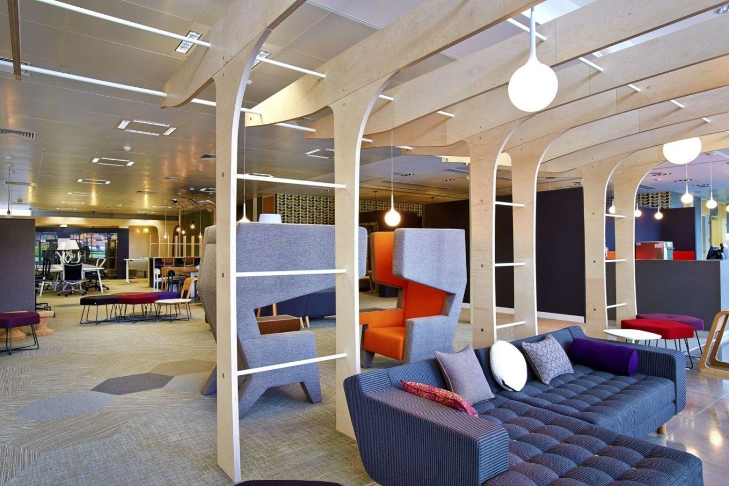 Astra Zeneca team breakout space fit out