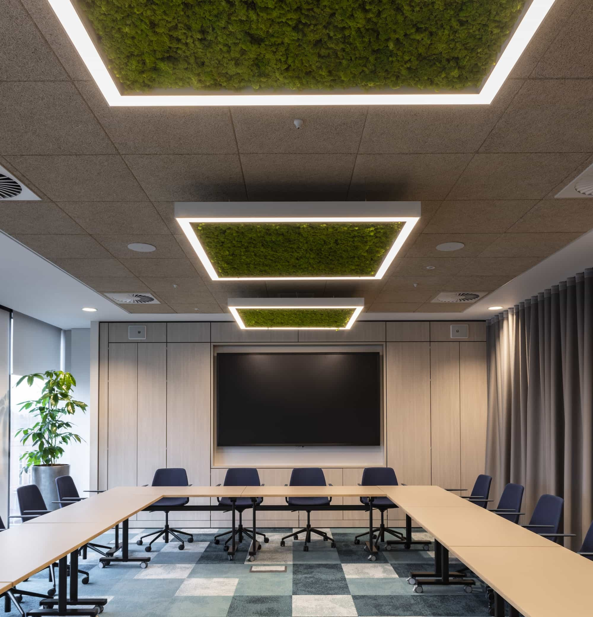 BASF meeting room fit out
