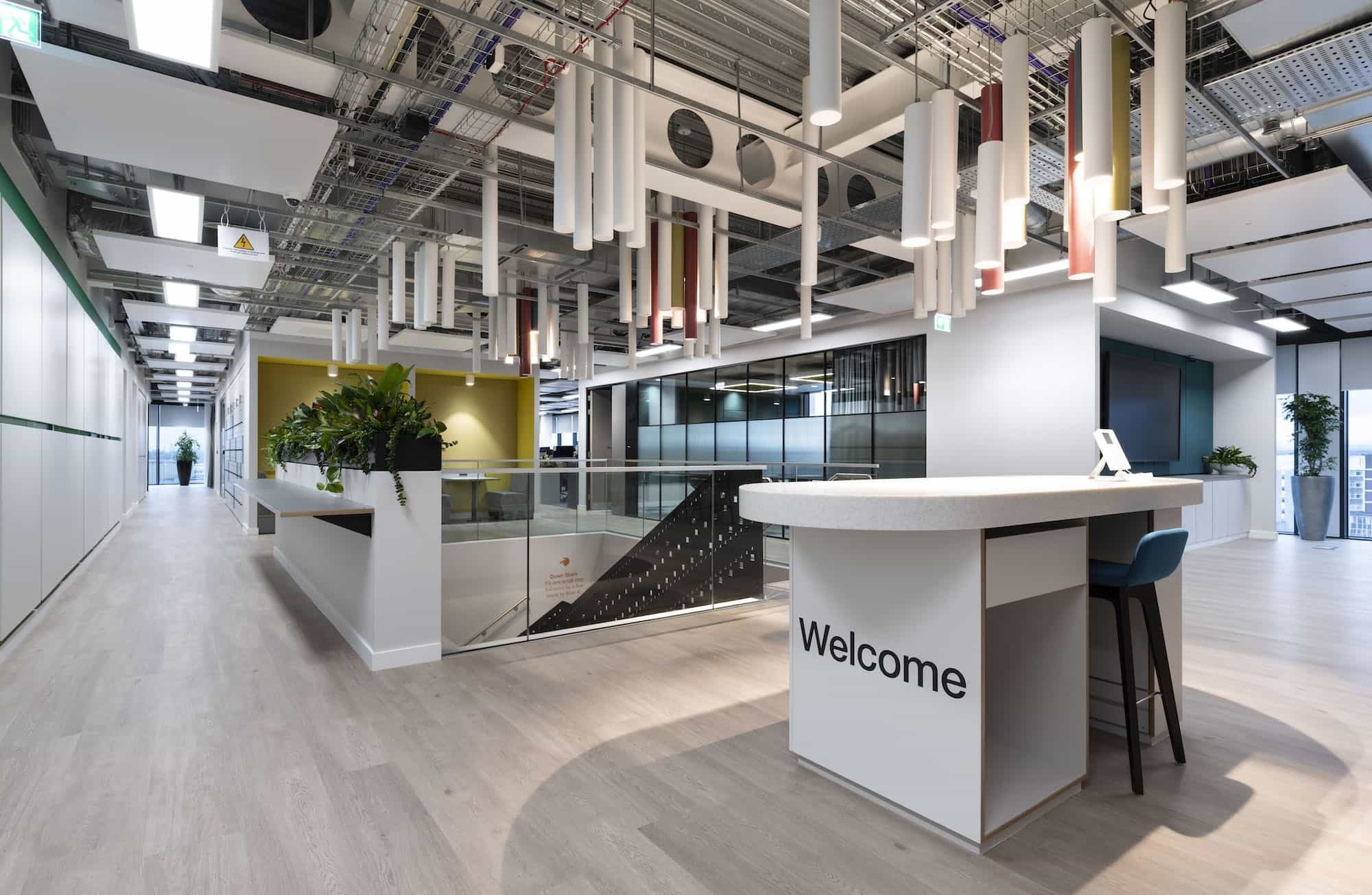BASF office reception fit out