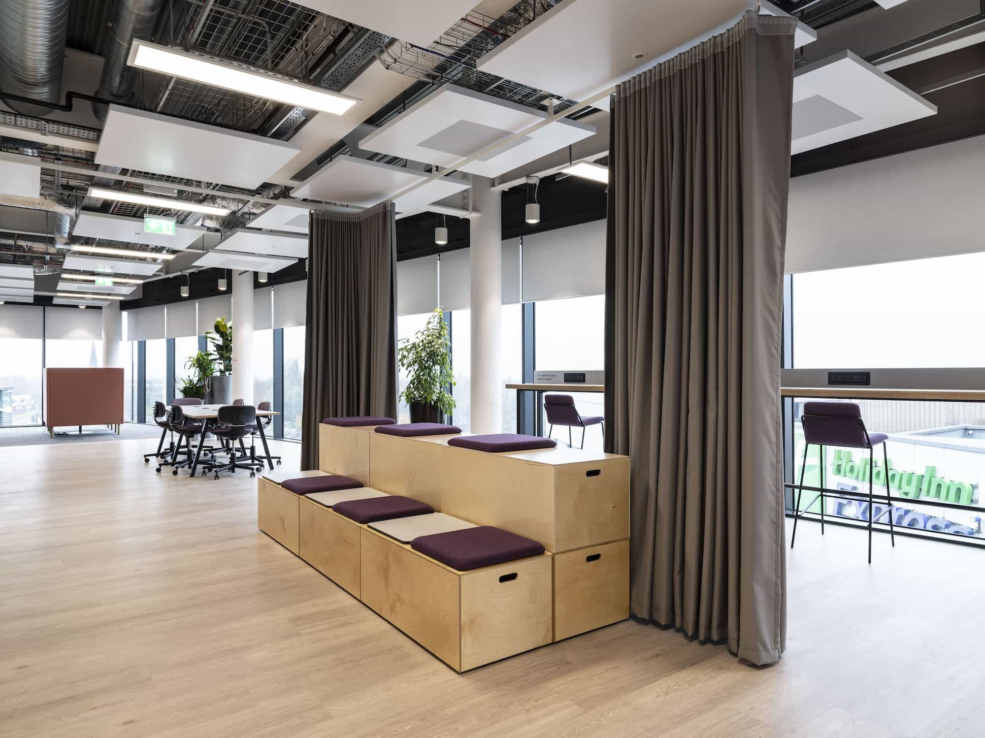 BASF towhnall seating fit out