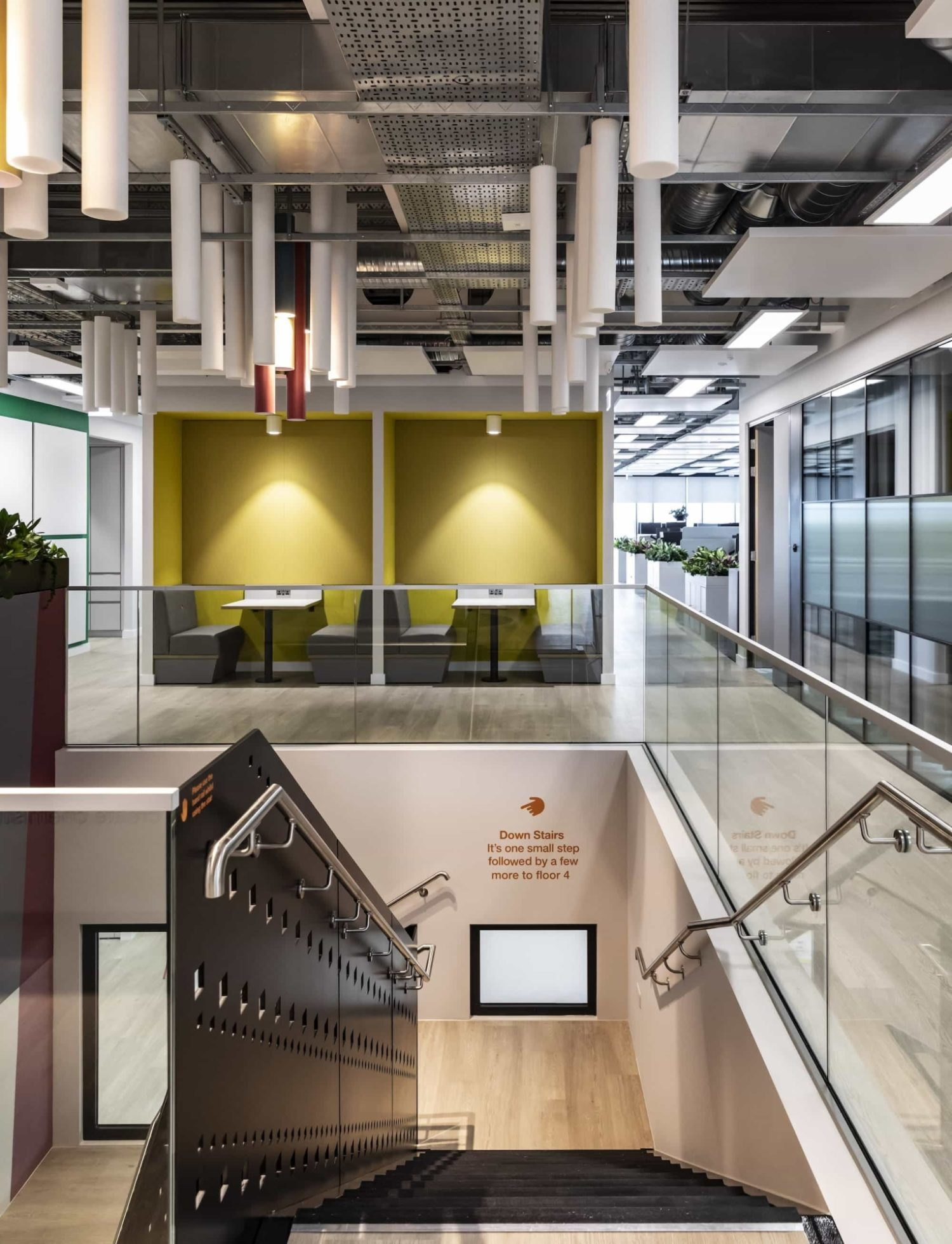 BASF-staircase fit out to facilitate flexibility