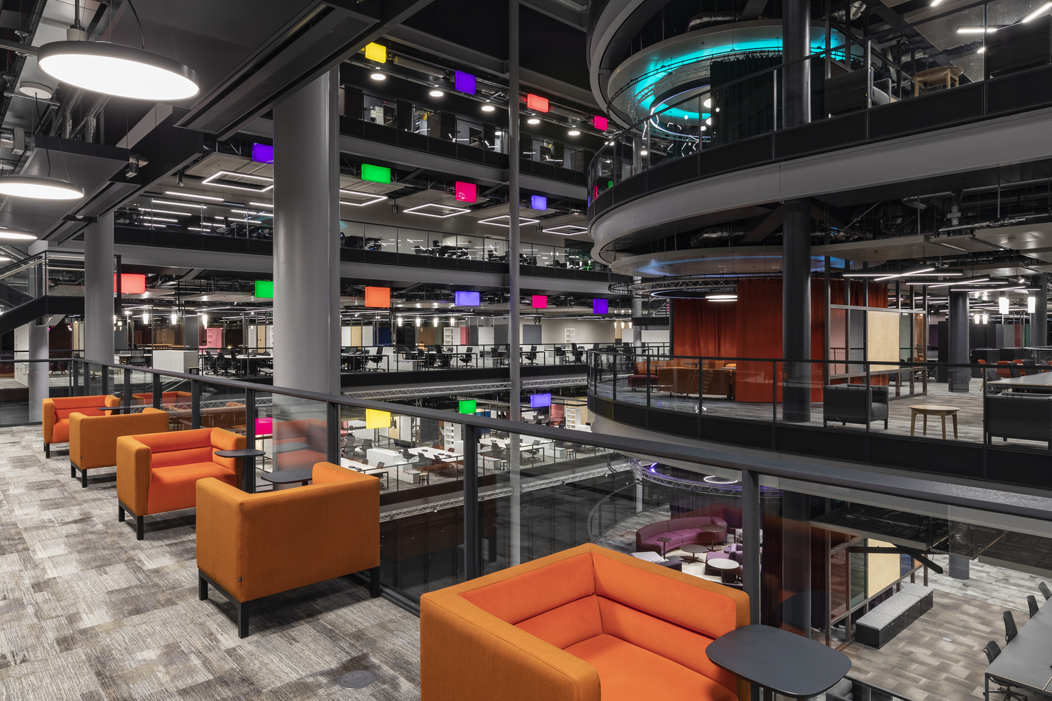 BBC breakout spaces fit out