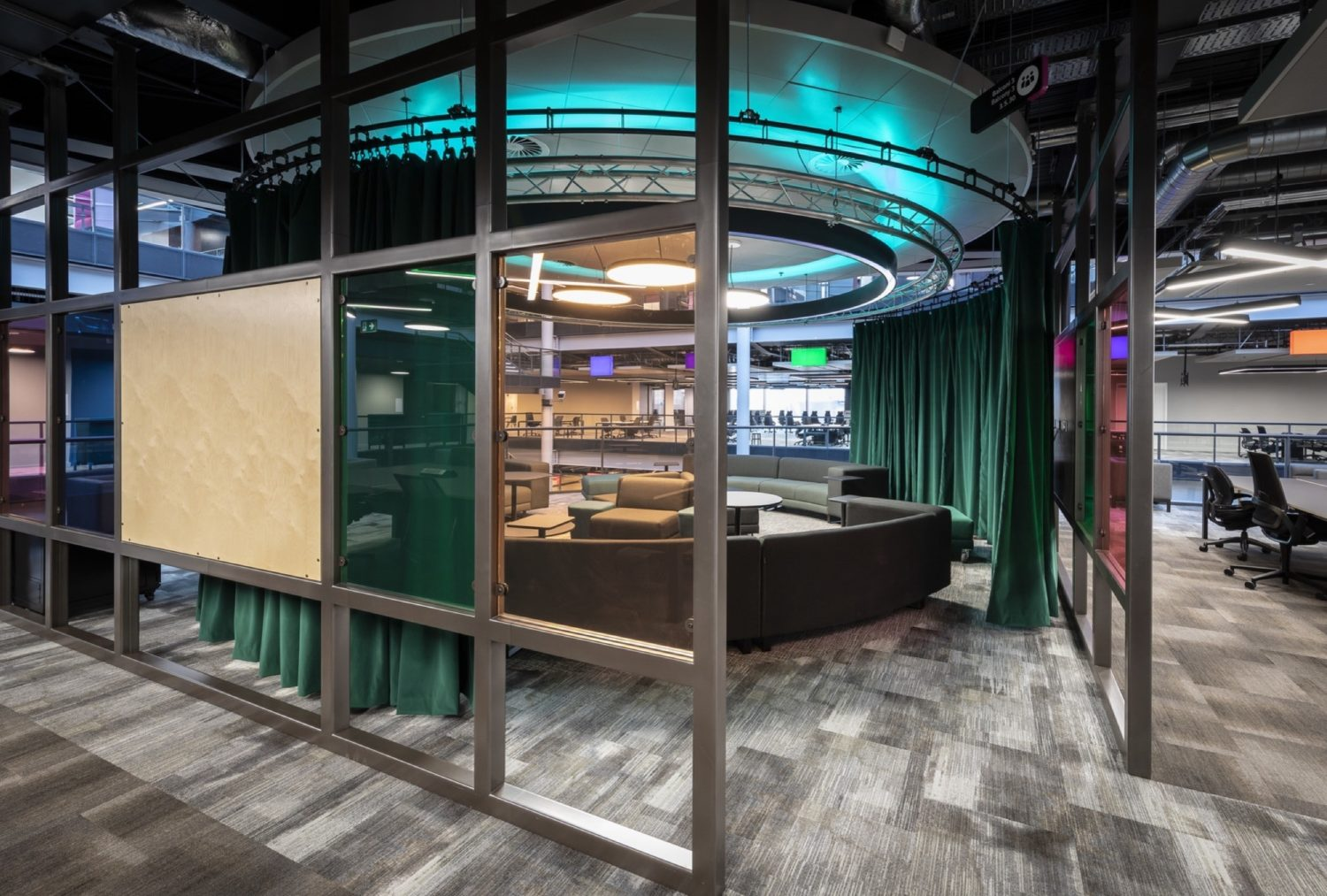 BBC breakout area fit out