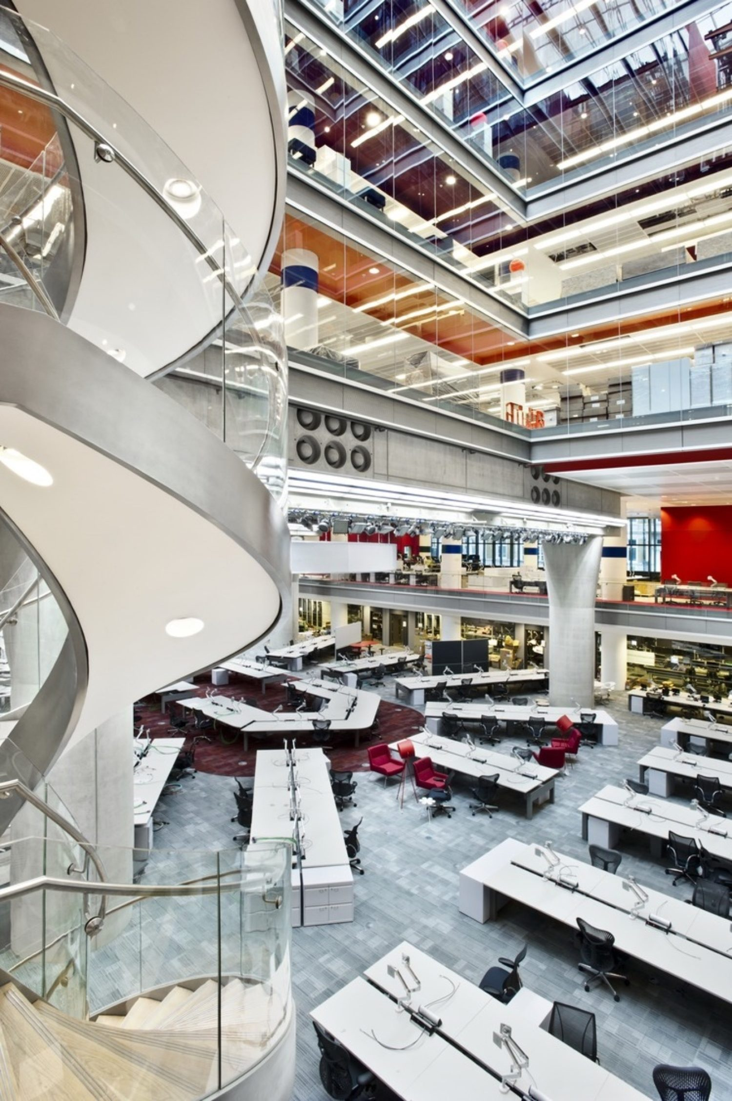 BBC communal are fit out