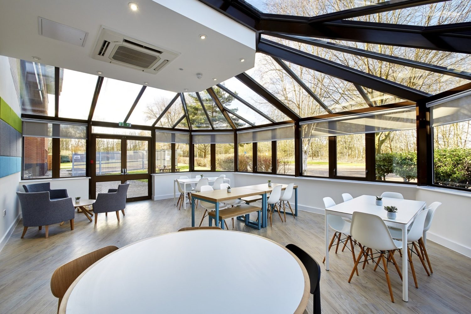 BakerHicks natural light breakout area fit out