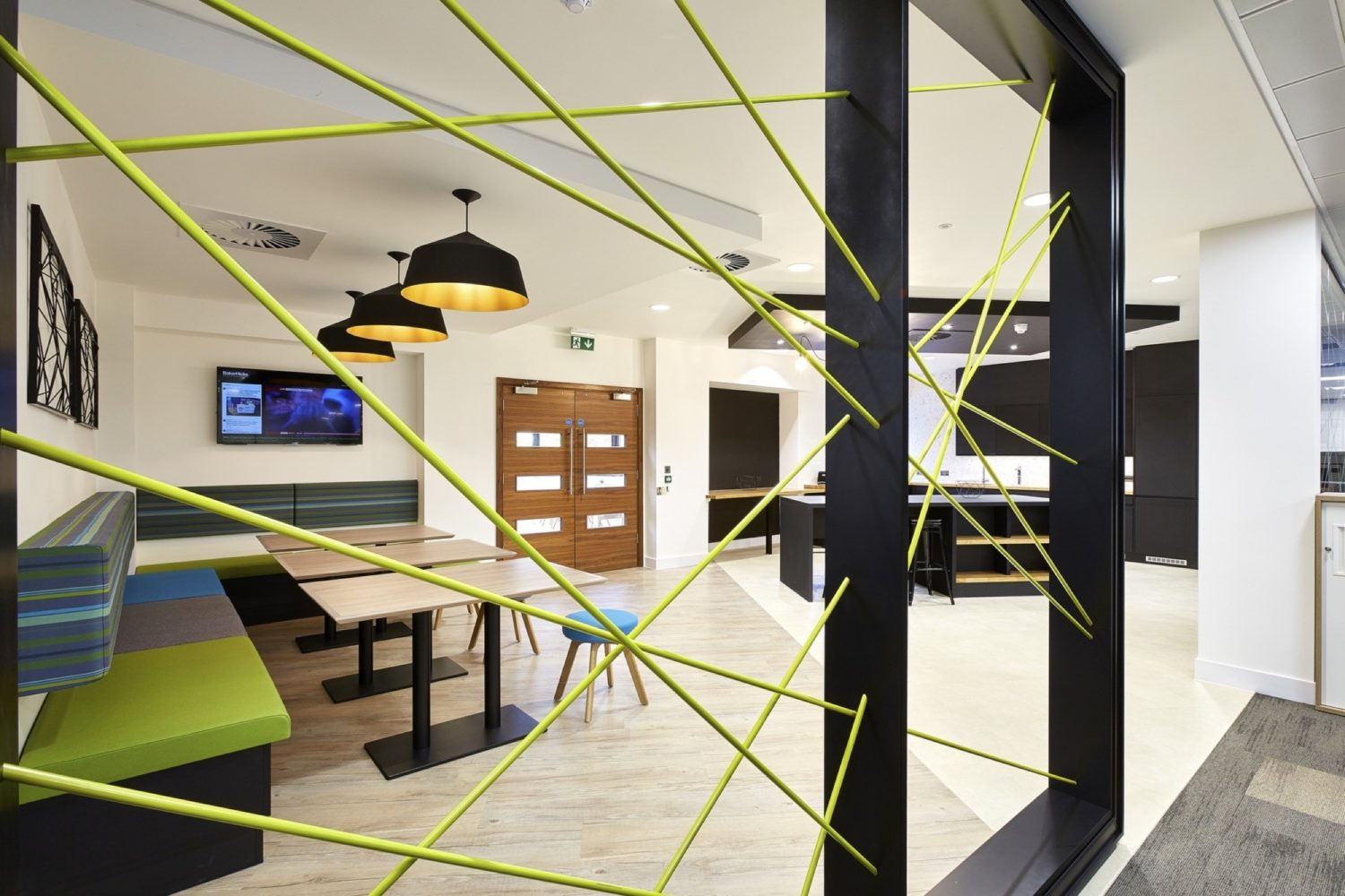 BakerHIcks communal space fit out
