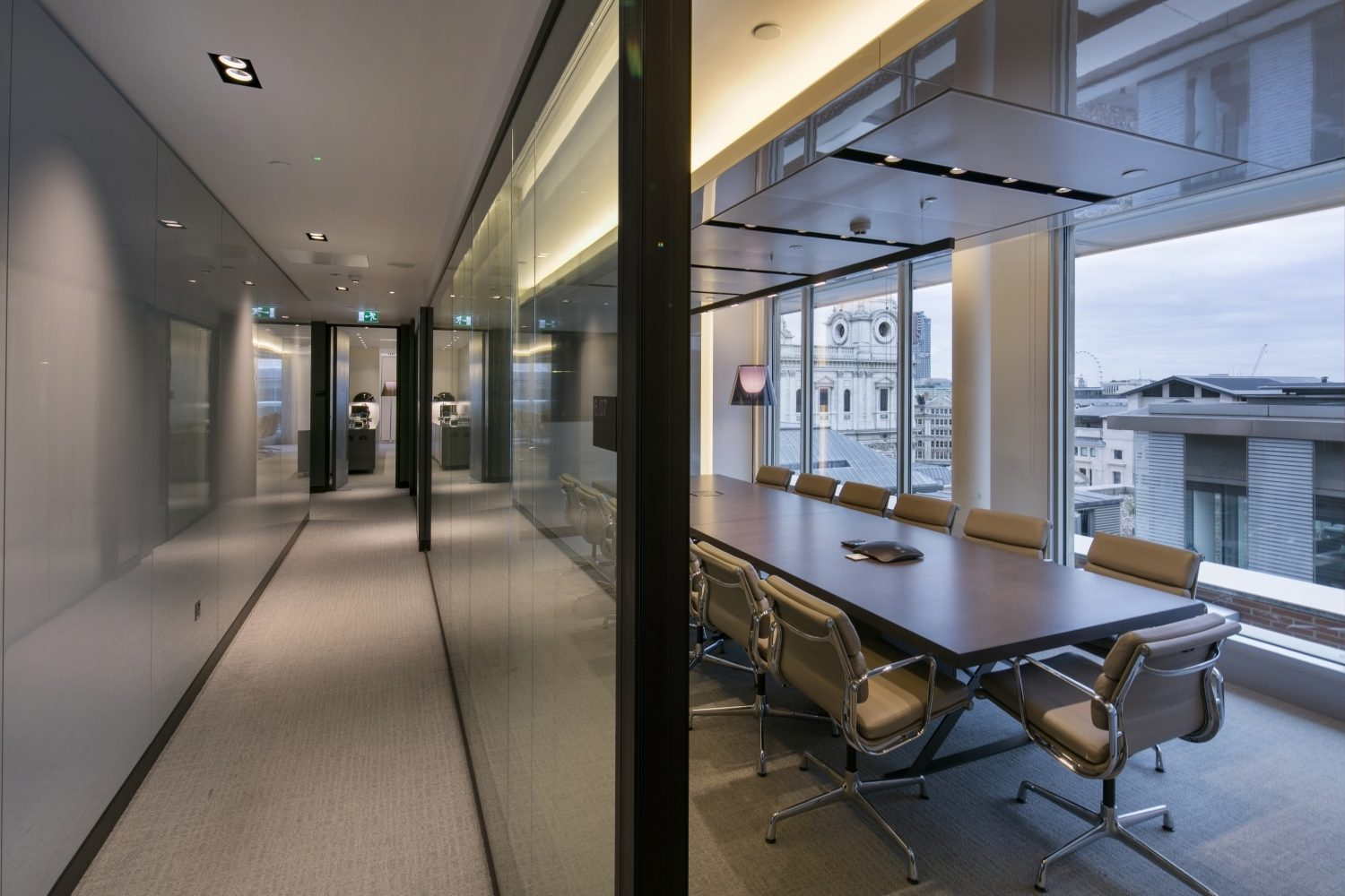 CBRE meeting room fit out