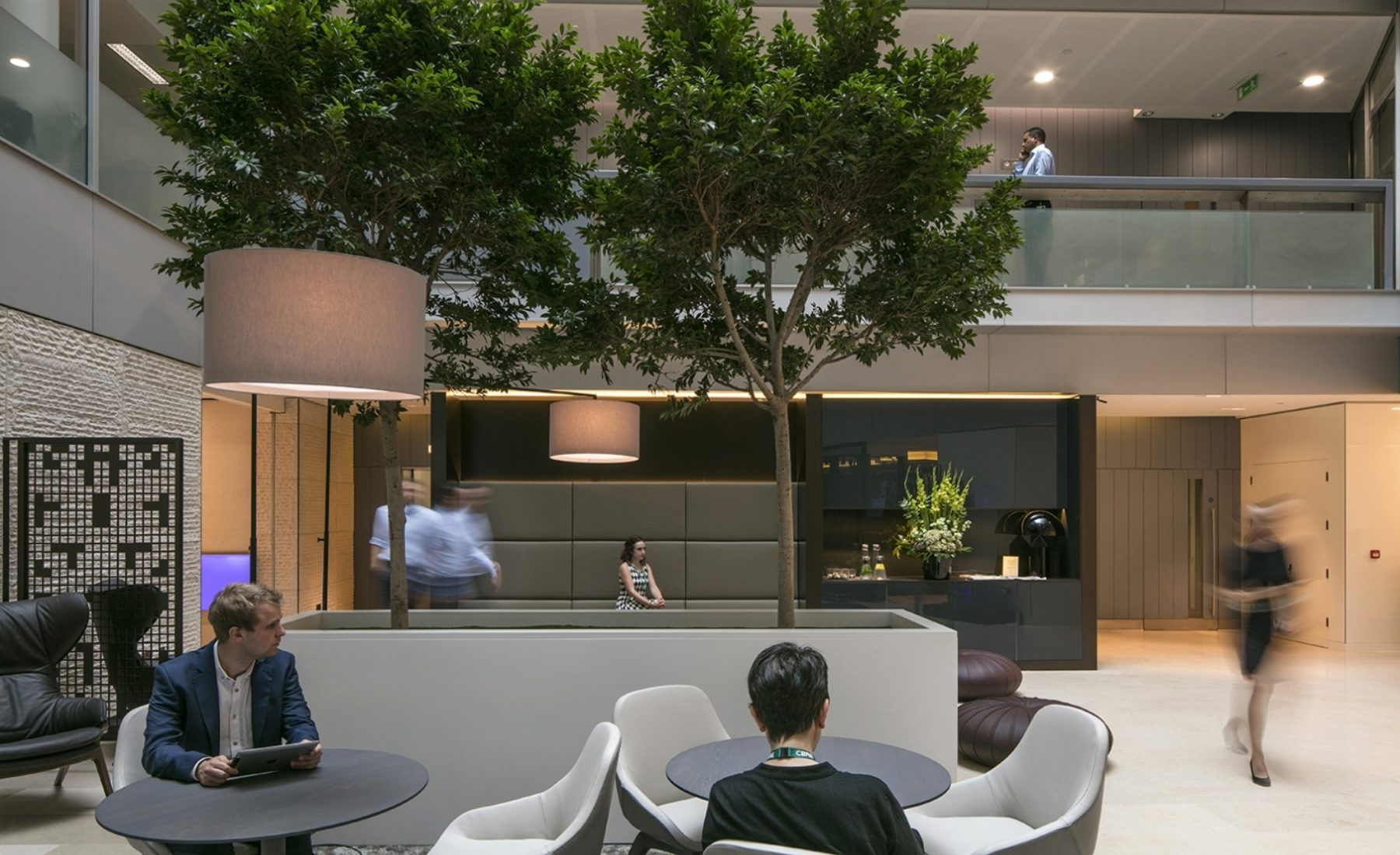 CBRE office fit out