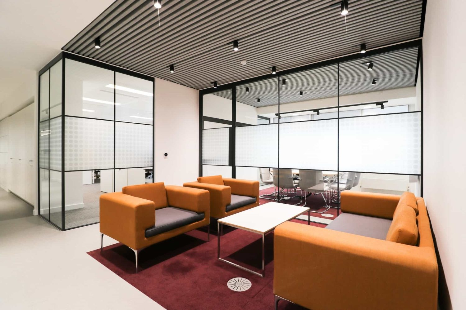 breakout area in office fit out