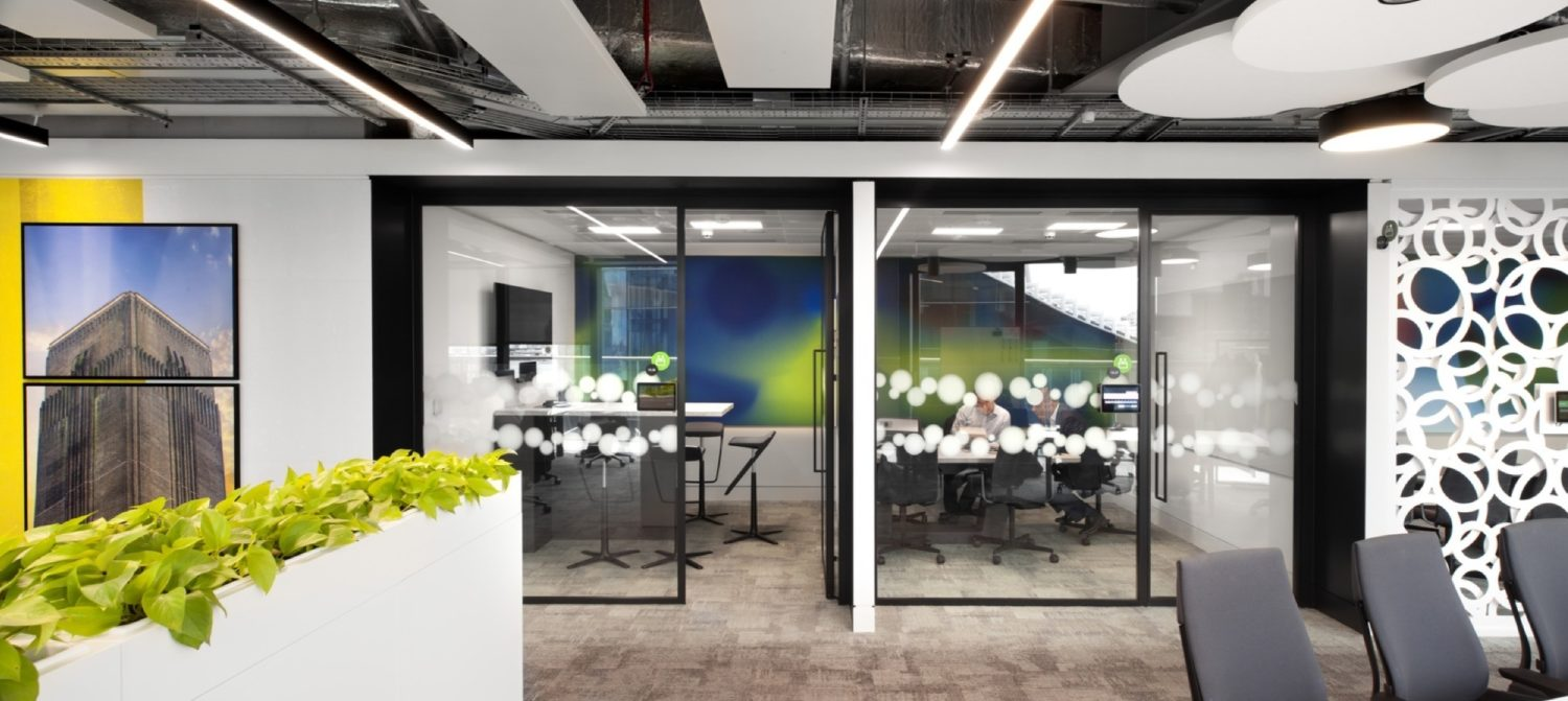 Deloitte's office fit out for wellbeing
