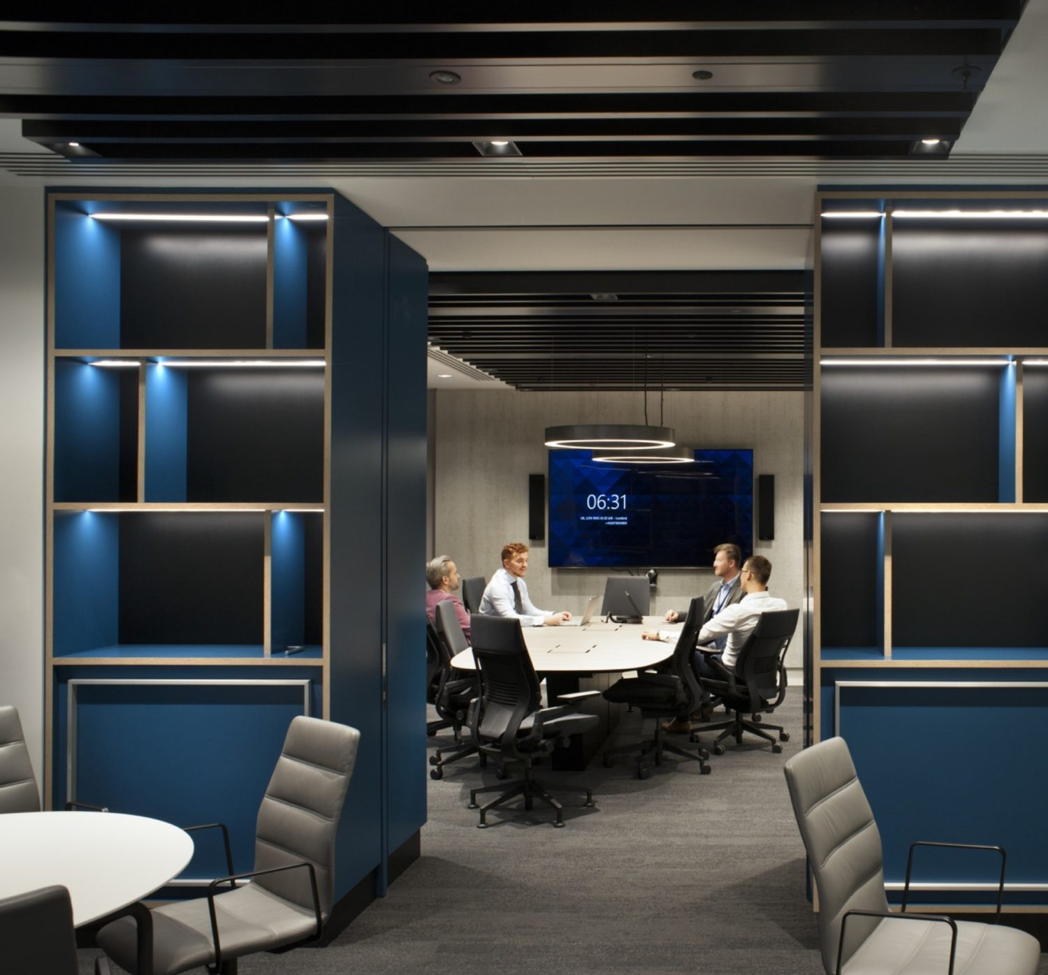 Deloitte smart meeting room fit out