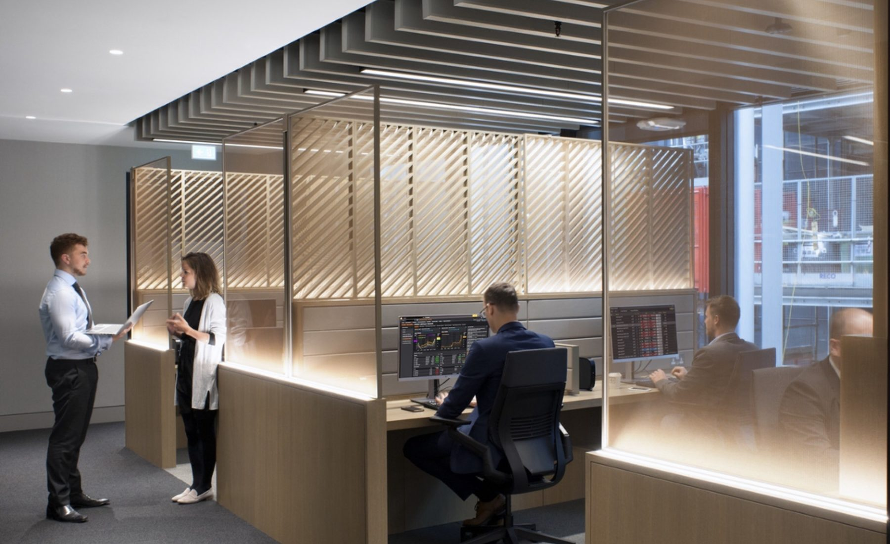 Deloitte sustainable office fit out