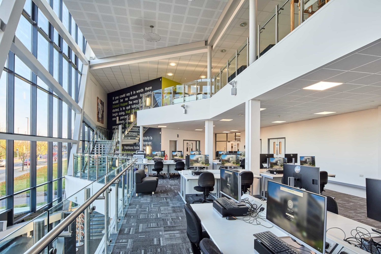 Dudley College learning space