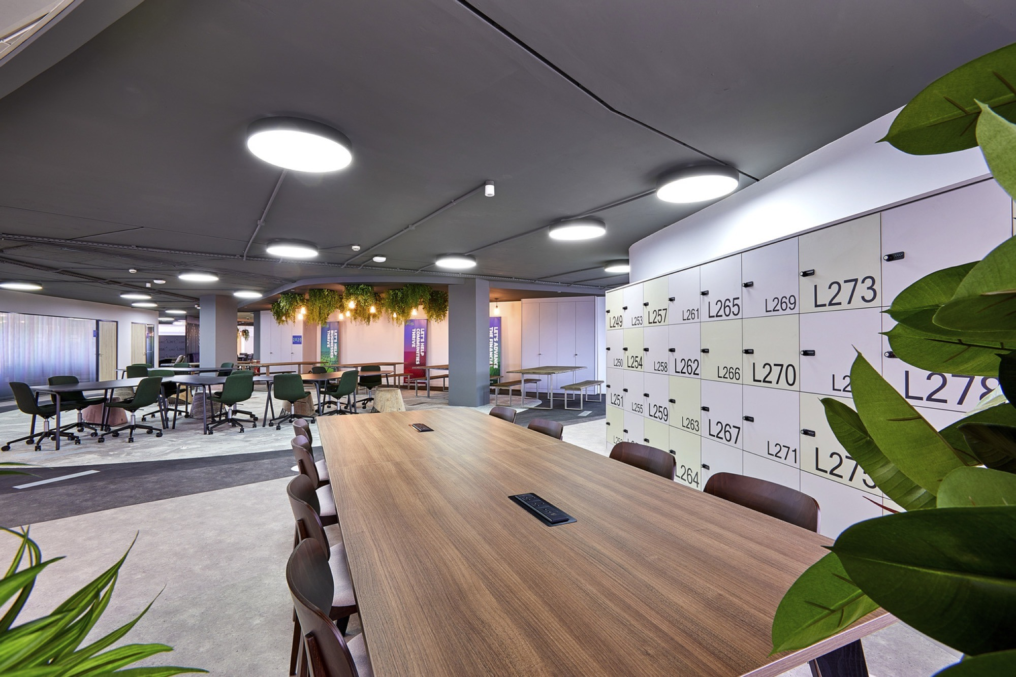 FIS communal area fit out