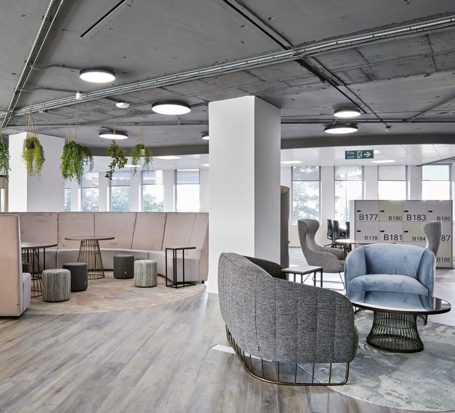 FIS Birningham office fit out for agile working