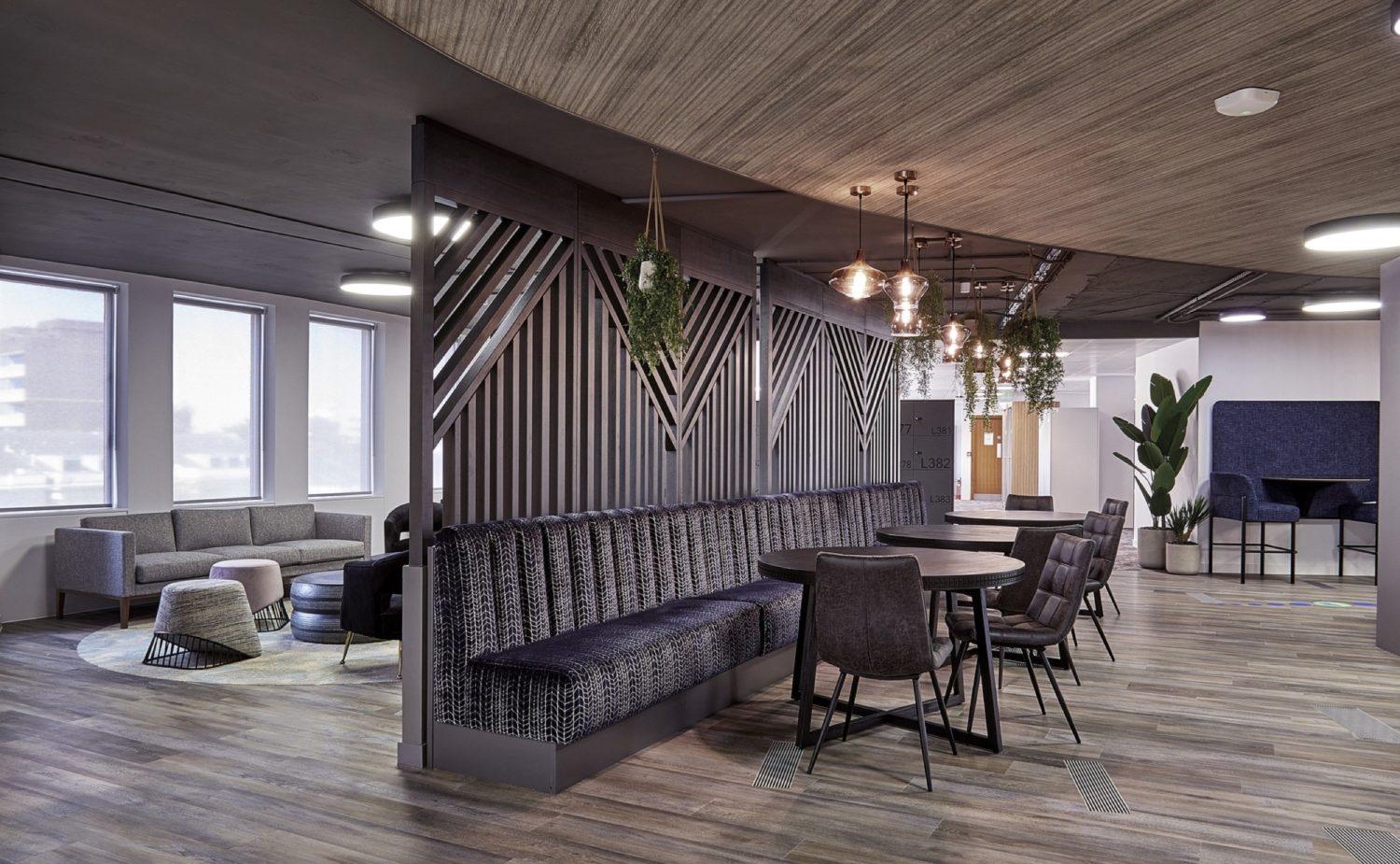 FIS timber partitions in office fit out
