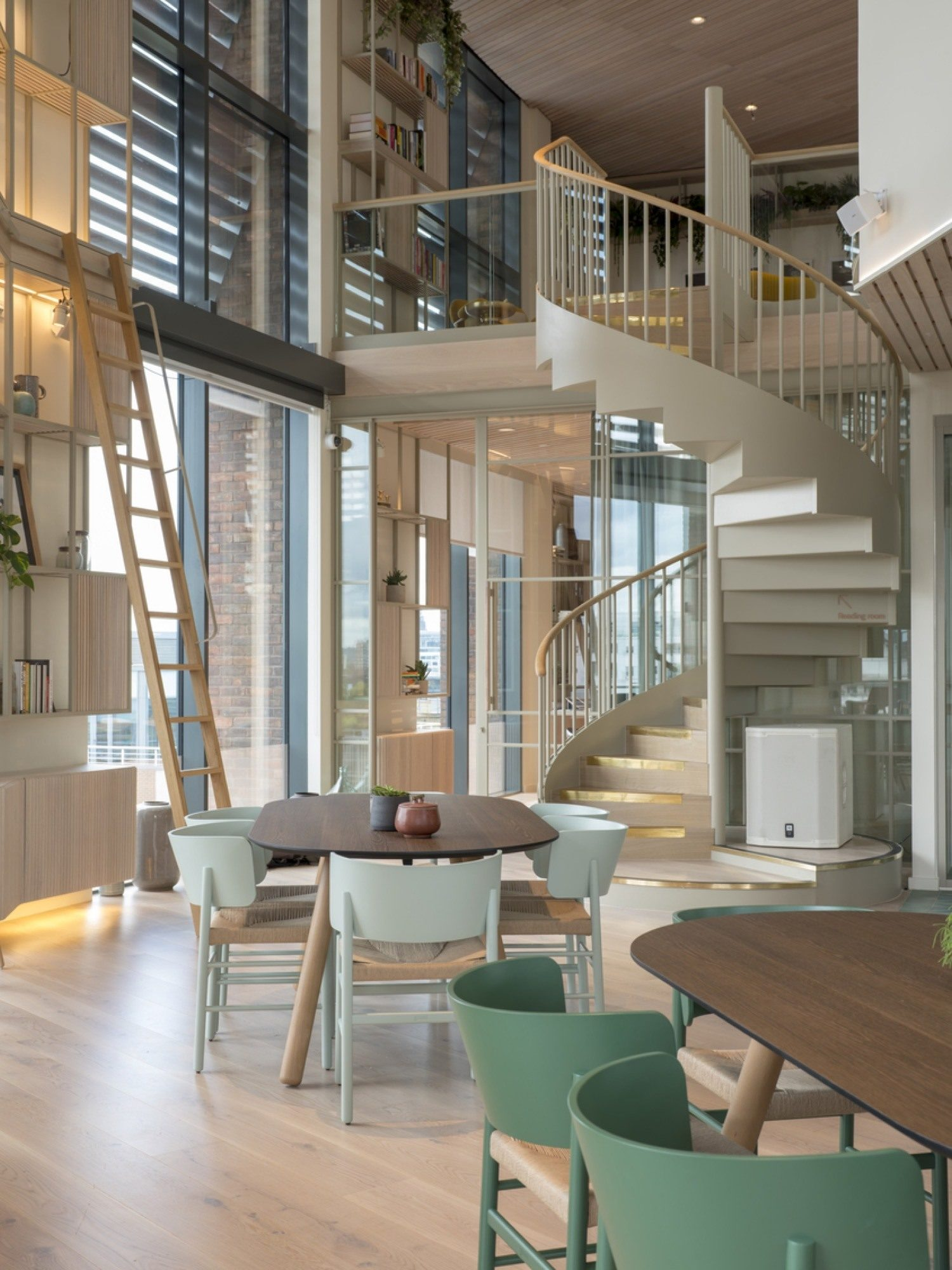 Fora coworking bespoke joinery fit out