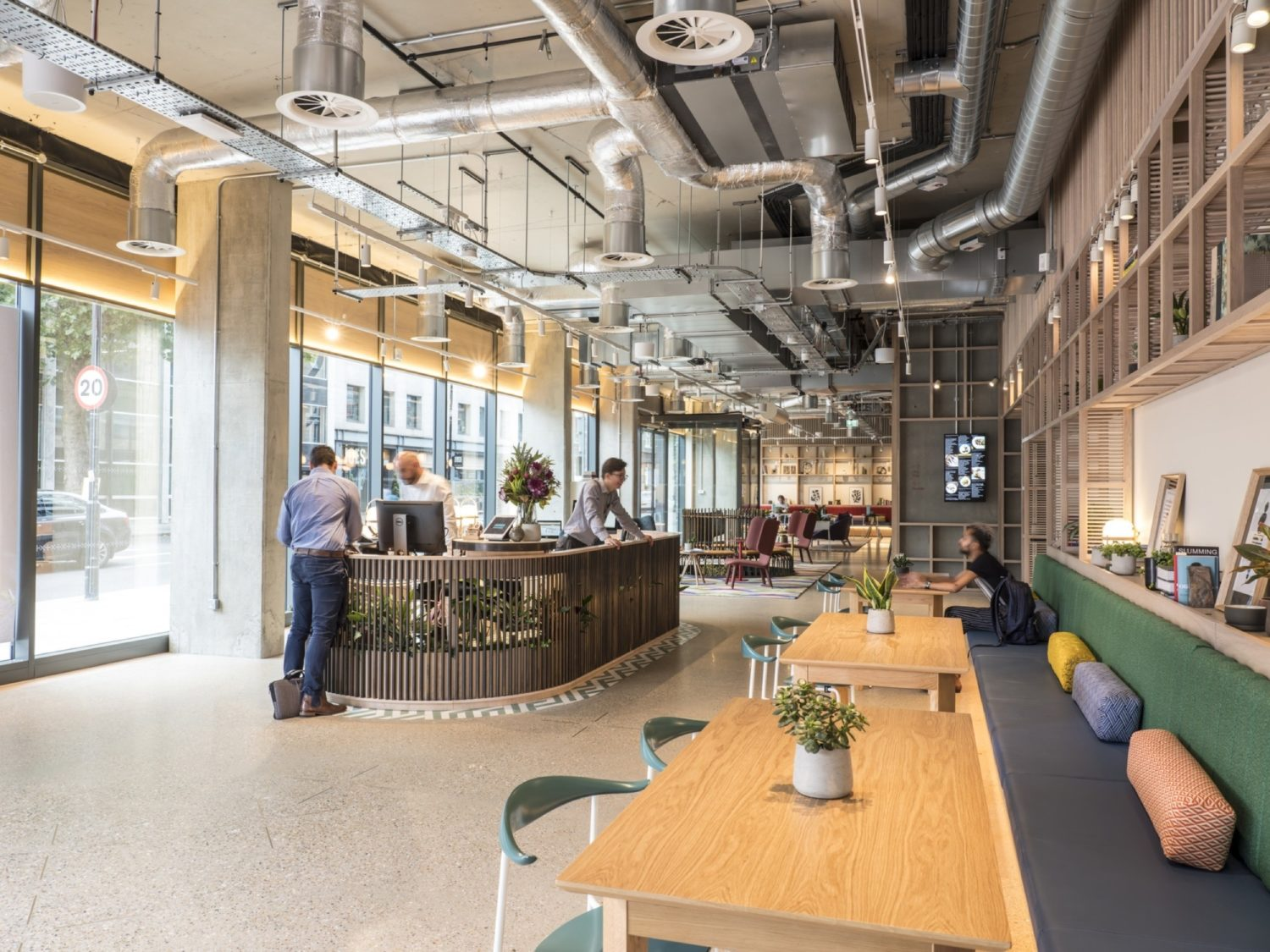 Fora cafe style coworking fit out