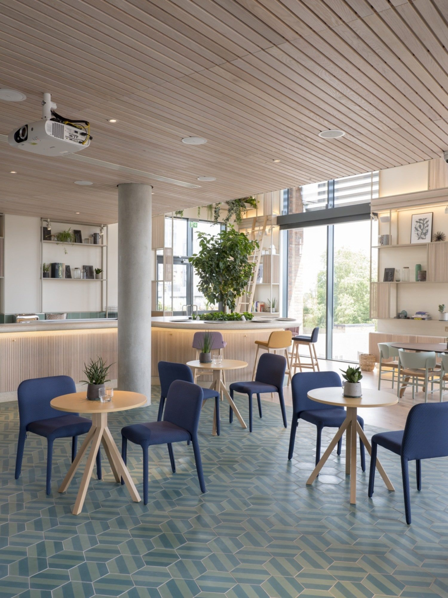 Fora coworking cafe fit out