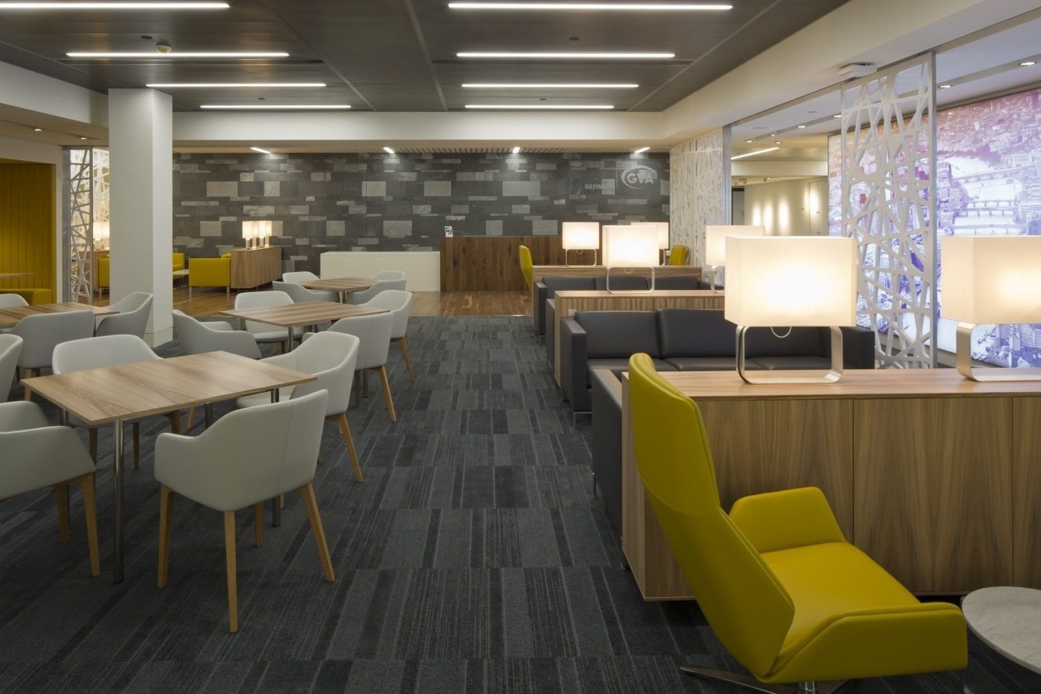 GVA communal area office fit out